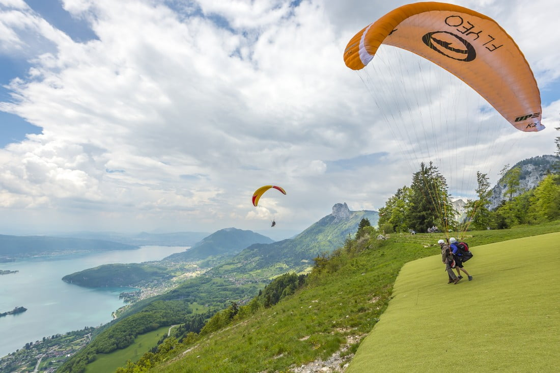Why there is no such thing as vertigo in paragliding